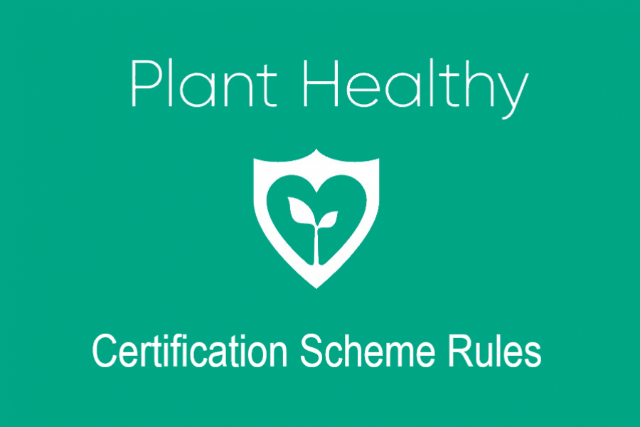 Plant Healthy Certification Scheme Rules